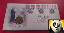2007 ROYAL MINT £2 Two Pound The Act of Union Anniv. Numismatic Coin Cover PNC