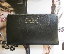 Kate Spade New York Wallet Travel Wellesley Black NEW $248