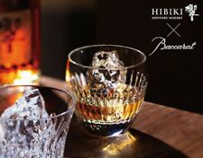 Japan 5410 Whisky Crystal tumbler Suntory HIBIKI Baccarat 30 face cut Glass