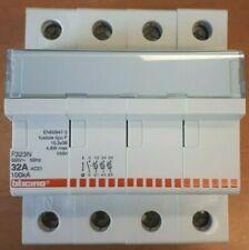 BTICINO BTDIN INTERRUTTORE MAGNETOTERMICO AUTOMATICO 3P CURVA D 125A 10KA F83HD//