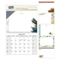 2020 Memo Board Wall Calendar Planner Month to View Family Organiser & Pen 3055