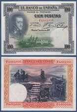España/Spain 100 pesetas 1928 XF p.69 C