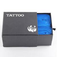 100PCS Disposable Plastic Tattoo Gun Clip Cord Sleeves Hygiene Cover Bags Supply