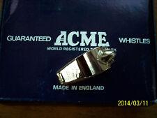 REFEREE WHISTLE METAL  ACME#60.5 WHISTLE!!!!