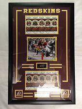 NFL Robert Griffin III RG3 Washington Redskins Framed 8X10 80 Anniversary Ticket