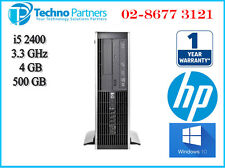 HP Elite 8200 i5 2400 3.1G 4G 250G Win 10 Pro Small Form Factor Desktop Computer