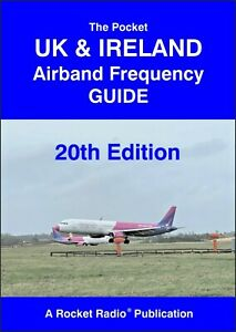 Radio Scanner Air Band Frequency Guide Pocket UK & Ireland Civil & Military 2020