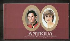Antigua SC # 627 Royal Wedding 1981. Booklet  MNH