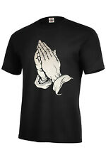 PRAYING HANDS T-SHIRT PRAYERS JESUS BLESSED SIZES S-5XL AND KIDS S6-8-XL18-20