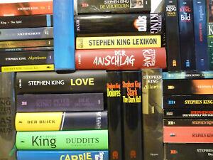 31x Stephen King - Old School Horror & Thriller / Große Sammlung Konvolut