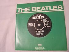 The Beatles 45 & Picture Sleeve from single collection-SHE LOVE YOU/I'LL GET YOU