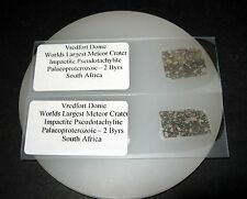 Vredfort Dome worlds largest meteorite impact crater breccia THIN SECTION Rare!