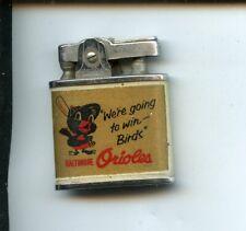 Vintage Omega Baltimore Orioles Cigarette Lighter