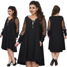 Mesh Plus Size Maxi Dress Dresses for Women