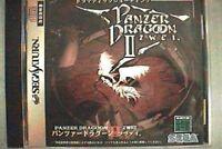 Sega Saturn PANZER DRAGOON II 2 ZWEI Import Japan Game ss