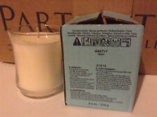 PARTYLITE ESCENTIAL JAR CANDLE GLASS CANDLE ASPEN NEW IN BOX