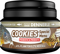 Dennerle Cookies Special Menu Futter für Welse 100ml