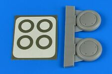 Aires 4717 Resin 1/48 Gloster Gladiator wheels & paint masks Roden