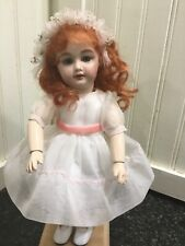 Bleuette 11 inch Silver style reproduction green eyes and red hair