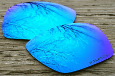 Polarized Sky Ice Blue Mirrored Sunglass Lenses for Oakley Dispatch 1 Warm Tint