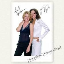 Jennifer Beals & Laurel Holloman da The L word-AUTOGRAFO Scheda foto