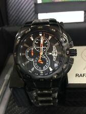 Reloj Time Force, colección Rafa Nadal, B.L.E Crono. Acero Negro, Esfera Negra.