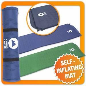 Selbstaufblasende Isomatte Campingmatte Thermomatte Schlafmatte Luftmatratze XL