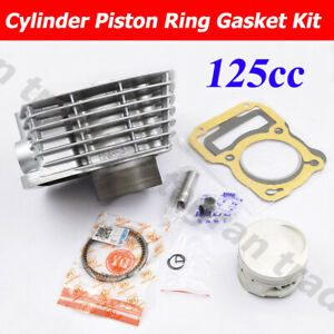 125cc Standard 56.5mm Cylinder Piston Kit For Honda XR125L NXR125 BROS 13mm Pin