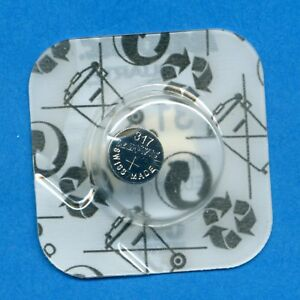 2 x 317 SR516SW SR62 V317 D317 1.55V Silver Oxide Watch Cell Batteries Rayovac