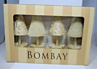 Bombay - White Top Tree S/4 Placecard Holder #1120798 (4 pack) Christmas/Holiday