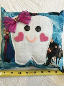 Pocket Tooth Fairy Pillow Disney Frozen Olaf Elsa Anna