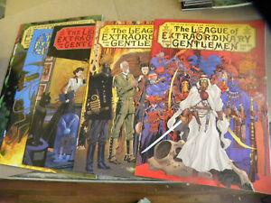 2002 all 6 ishs LEAGUE OF EXTRAORDINARY GENTLEMEN Vol 2 1 2 3 4 5 6 Alan Moore