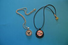 Lot of 2 NIGHTMARE BEFORE XMAS  Cabochon PENDANTS NECKLACES New Jewelry USA SALE