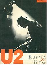 U2 RATTLE & HUM ARCANA 1988 IMMAGINAZIONI 4 MUSICA ROCK