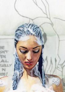 Shunga Art | Pin-Up | LE of 15 | Original by Ariel & C.Zittermann® | Act 335