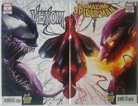 Amazing Spider-Man #800 & Venom #1 Mattina Connecting Exclusive Variant Set