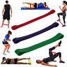 Set of 3 Resistance Exercise Loop Bands Home Gym Fitness Premium Natural Latex