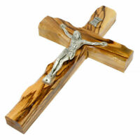 Authentic Olive Wood Carved Cross Hand Made Holy Land Jerusalem Bethlehem Gift
