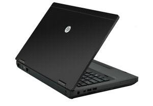 3D CARBON FIBER Vinyl Lid Skin Cover Decal fit HP ProBook 6560b 6570b Laptop