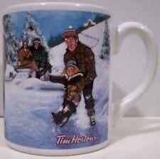 Tim Hortons Mug Skating Pond Limited Edition 2003 English