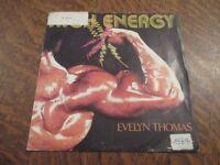 45 tours EVELYN THOMAS high energy