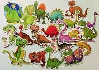 50er Set Dinosaurier Stickerbomb Saurier Kinder basteln Aufkleber Scrapbooking