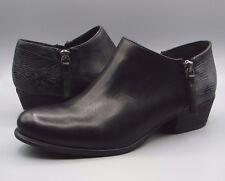 """O Langdon Ribbon""Clark's Women/Ladies Black Leather Shoes size 4 D."