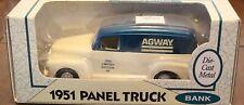 Ertl 1951 Panel Truck Bank; 1/25 Scale; NIB