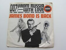 JOHN BARRY SEVEN 1963 UK 45 007  FROM RUSSIA WITH LOVE  JAMES BOND EMBER EMBS181