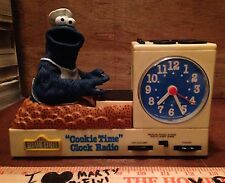Cookie Time 1977 Monster Vintage Sesame Street Alarm Clock AM Radio VERY RARE!
