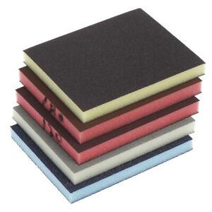 2PCS Polishing Sanding Sponge Block Pad Sandpaper Assorted Abrasive ToolEBB`hw