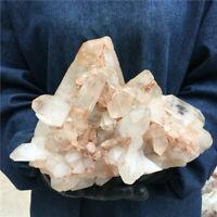 14.34LB Natural Clear Quartz Cluster Mineral Crystal Specimen Healing GG1987-YH