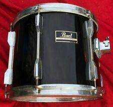 "Pearl Export Tom Drum Black 12 x 10"" Taiwan 433 RROD"