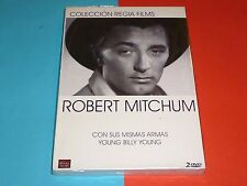 ROBERT MITCHUM : YOUNG BILLY YOUNG + CON SUS MISMAS ARMAS -Precintada